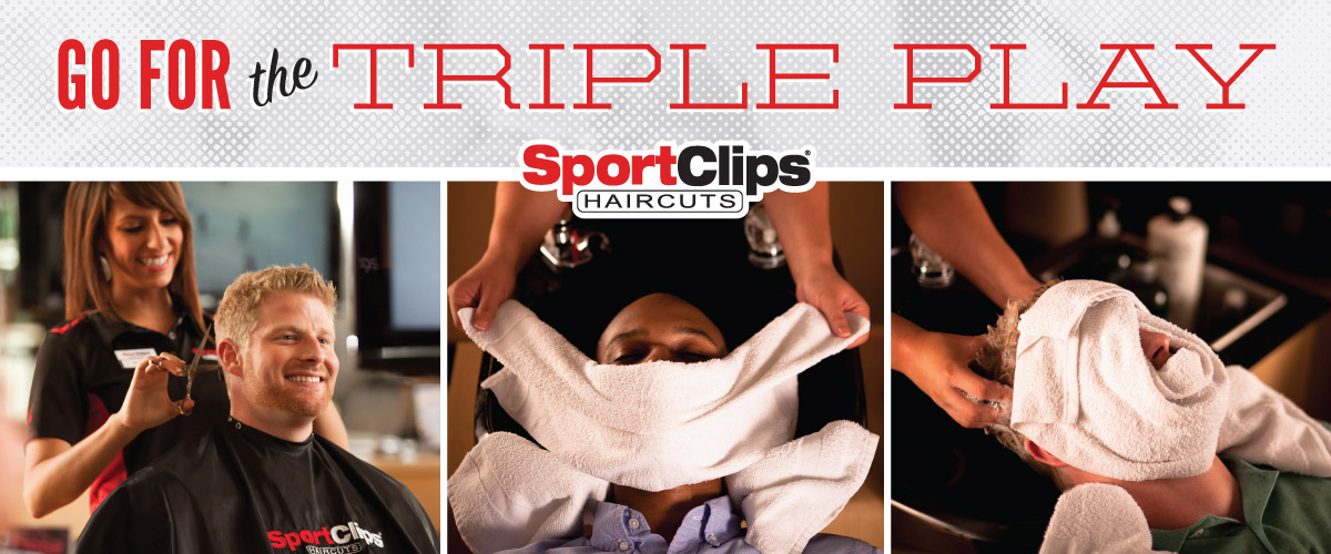The Sport Clips Haircuts of McKinney- Town Crossing Triple Play