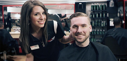 Sport Clips Haircuts of McKinney- Town Crossing​ stylist hair cut